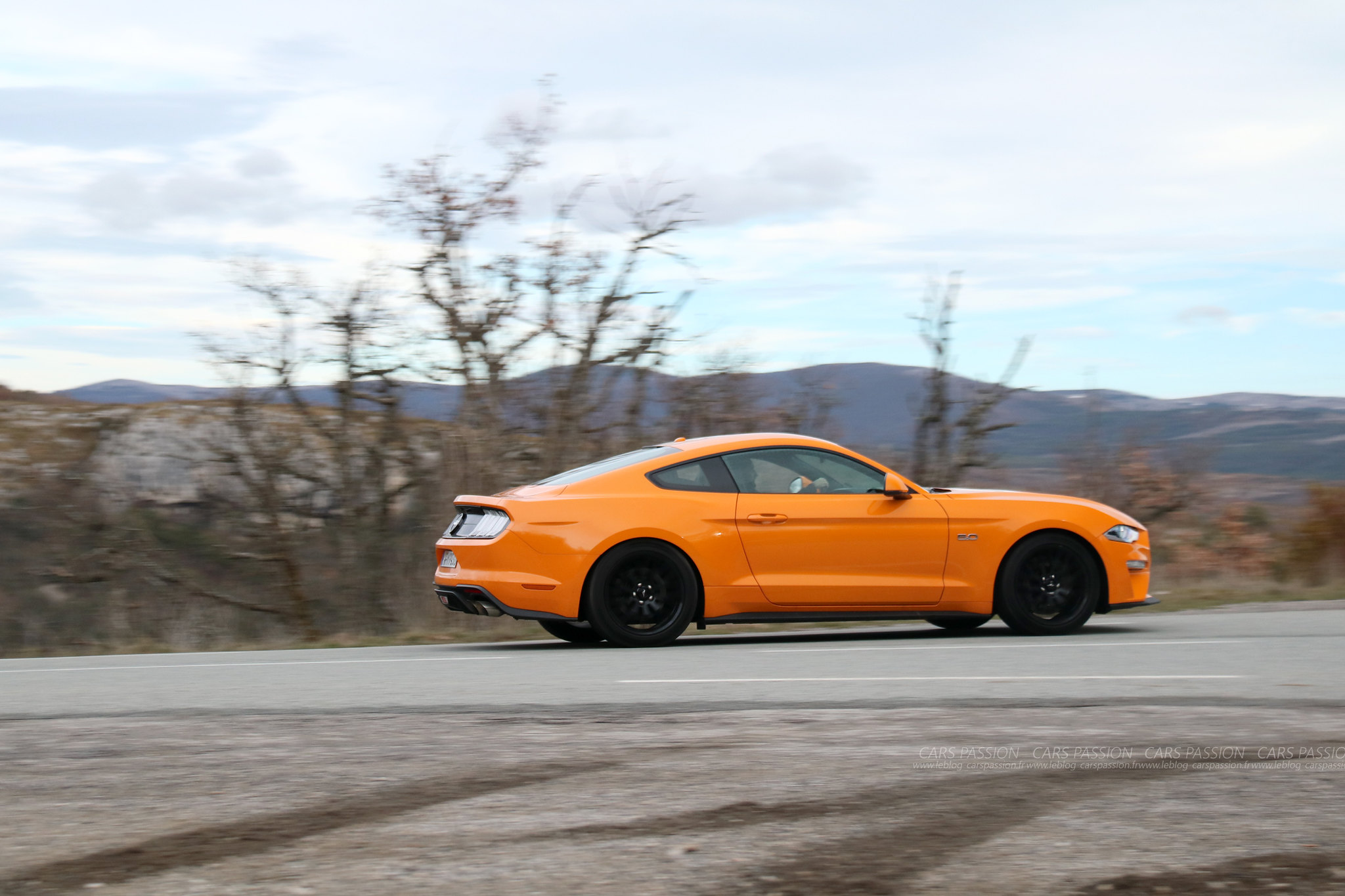 Essai Ford Mustang 2018 V8