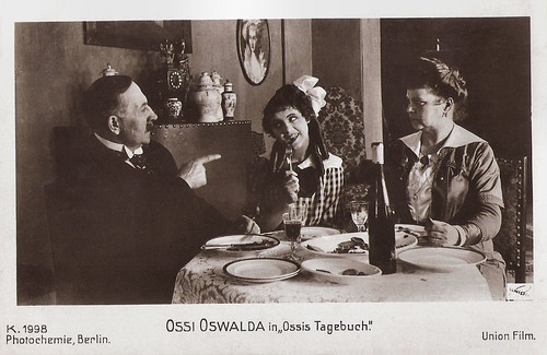 Ossi Oswalda in Ossis Tagebuch (1917)