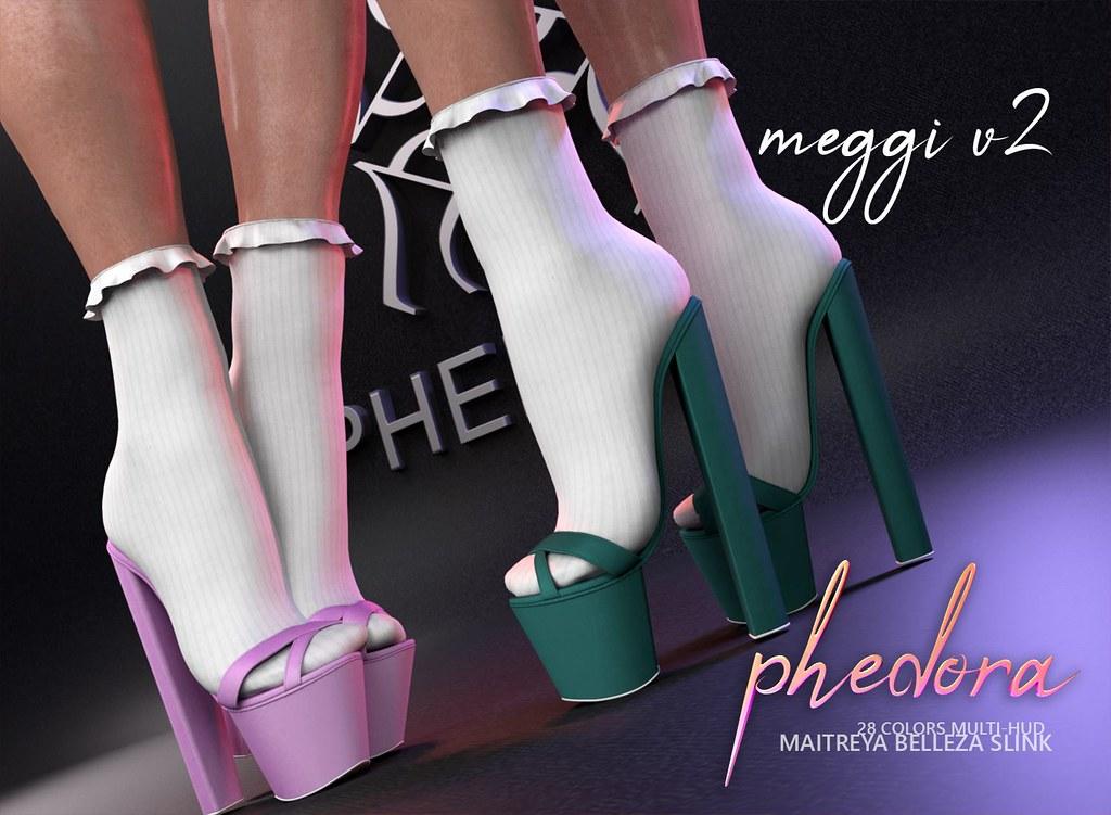 "Phedora for Kustom9 – ""Meggi V2"" heels"