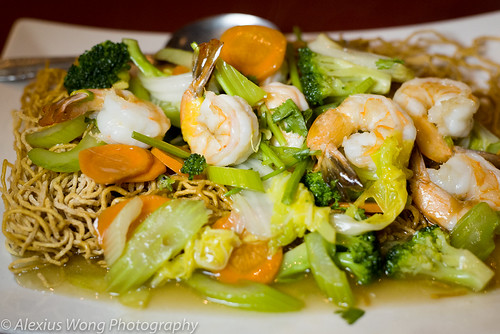 Shrimp Crispy Noodles, Anh Dao, Washington DC