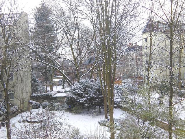 verschneiter Frühling