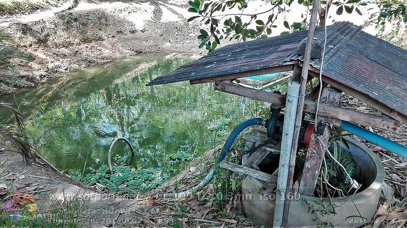 ระบบน้ำเพื่อการเกษตรที่นำมาใช้ในสวนโสทร