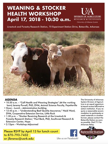 3-23-2018 Weaning-Stocker Workshop