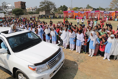 Arrival of Her Holiness in the Satsang Ground