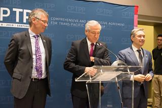Declaración ministros Canadá, Chile y Nueva Zelanda