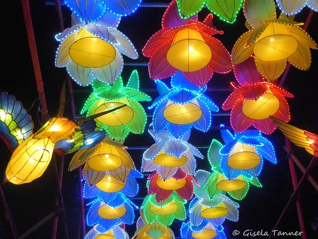 Magische Lichterwelten Zoo Halle