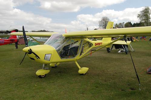 G-FBTT Aeroprakt A.22L [PFA 317A-14743] Popham 020509