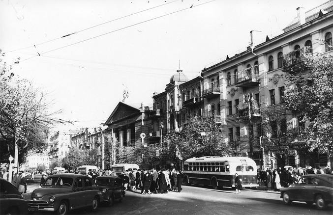 Площадь Льва Толстого, 1958-й год