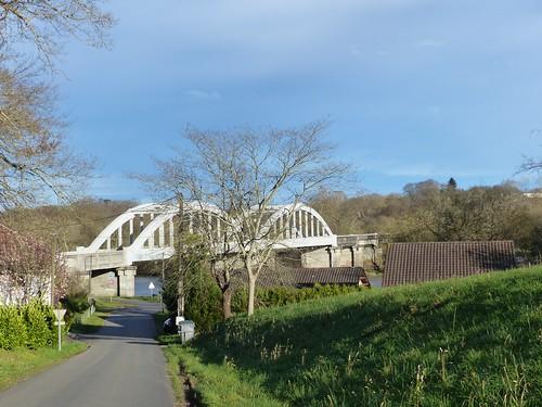 Josse, Landes: pont de Marquèze sur l'Adour, 1935.