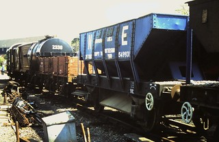 90-112  Goods wagons in the Tenterden Town sidings