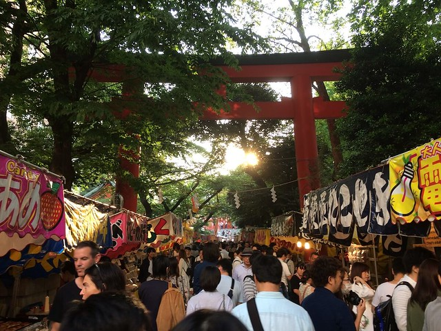 festival in tokyo