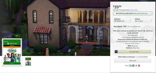 The Sims 4 ao Trabalho está chegando oficialmente aos consoles
