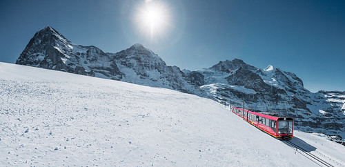 Jungfraujoch winter. From Have A Swiss Travel Pass? Happy Traveling via Trains, Boats, and Land
