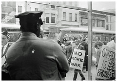 D.C. Draft resister backed up by pickets: 1967
