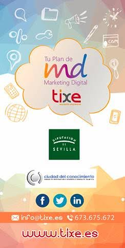 Cartel Tu Plan de Marketing Digital de Tixe