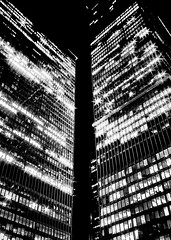 Toronto Dominion Centre Night