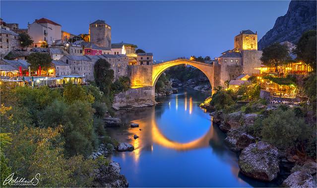 Old Bridge in Mostar, Bosnia i Hercegovina