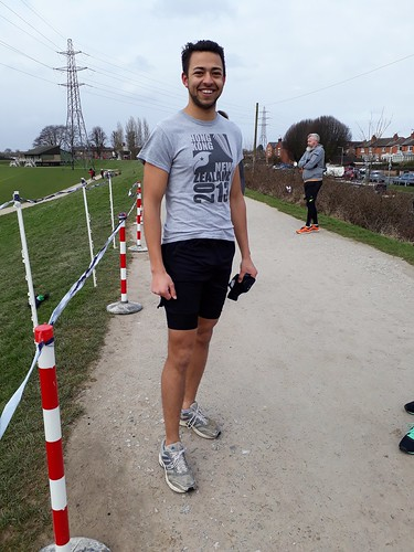 Beeston parkrun runner... dressed for the weather?