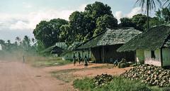 Dusty road, Malawi, 1975