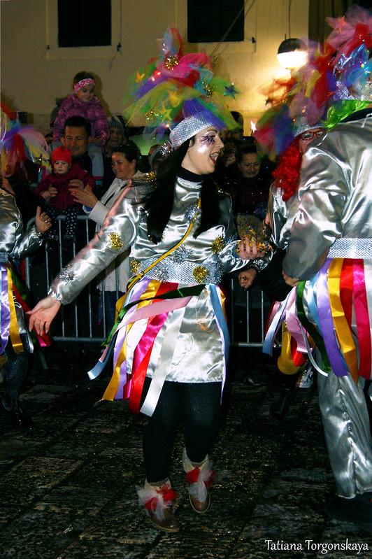 Танец карнавальной группы из Риеки