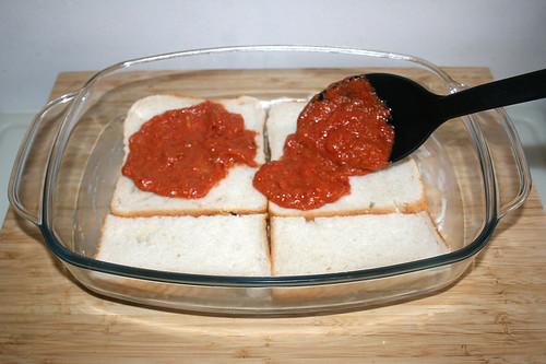 22 - Tomatensauce hinzufügen / Add tomato sauce