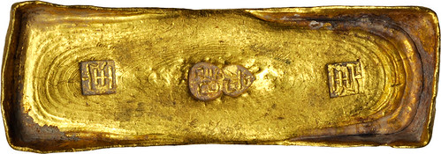 CHINA 10 Tael Gold Ingot, ND (ca. 1750). A0000418563-01