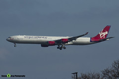 G-VFIT - 753 - Virgin Atlantic Airways - Airbus A340-642 - Heathrow - 170402 - Steven Gray - IMG_9889