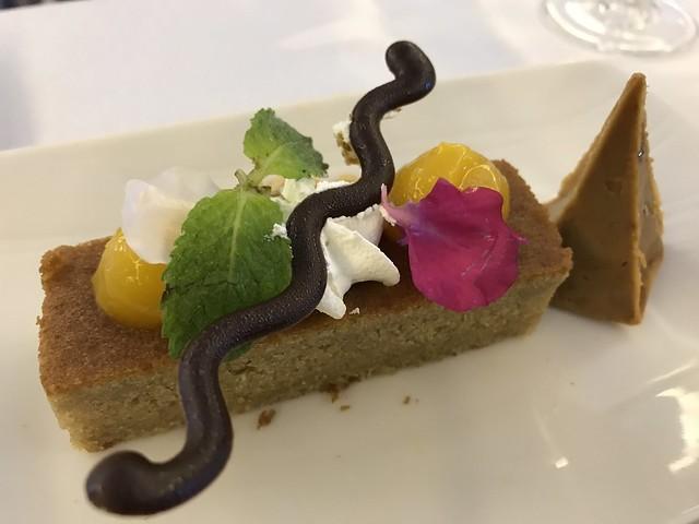 PAL in flight dessert,  London