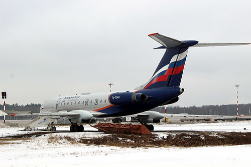 RA-65717 TU-134 Riga-Skulte 10-03-18