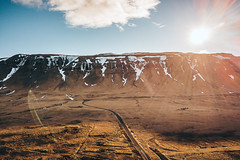 Mountains and road | Iceland 2018