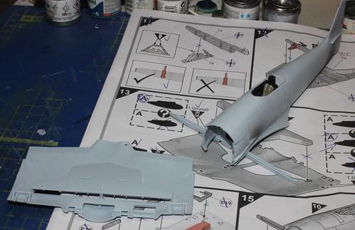 Hawker Sea Fury FB.11, Airfix 1/48 40243323094_1bd15fd57f