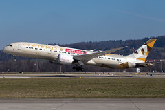 Etihad_B789_A6-BLM_TMall Happy Global Shopping Festival 2017 sticker_ZRH_20180324_Takeoff_Sun_MG_2740_Colormailer_Flickr
