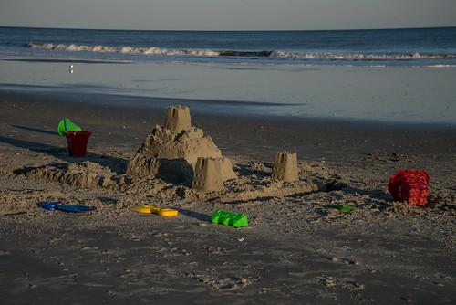 roadtrip unitedstates usa southcarolina northmyrtlebeach northmyrtlebeachsc beach beachscenic sandcastle