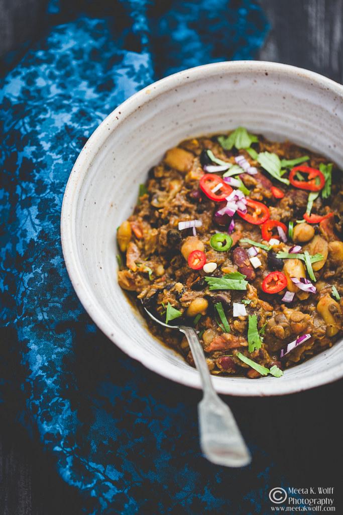 Vegetarian Biryani_Legumes Fry-by Meeta K Wolff-0119