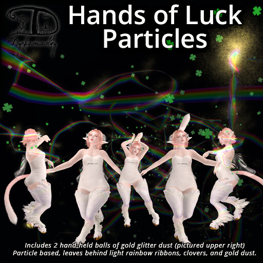 Hands of Luck Particles - FREE - TeleportHub.com Live!