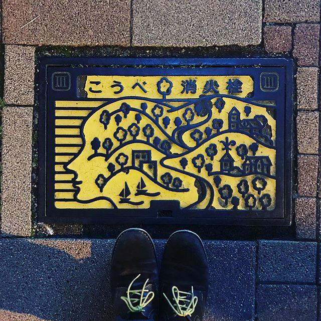 #神戸 #三宮 #旧居留地 #マンホールt #マンホールではないけど