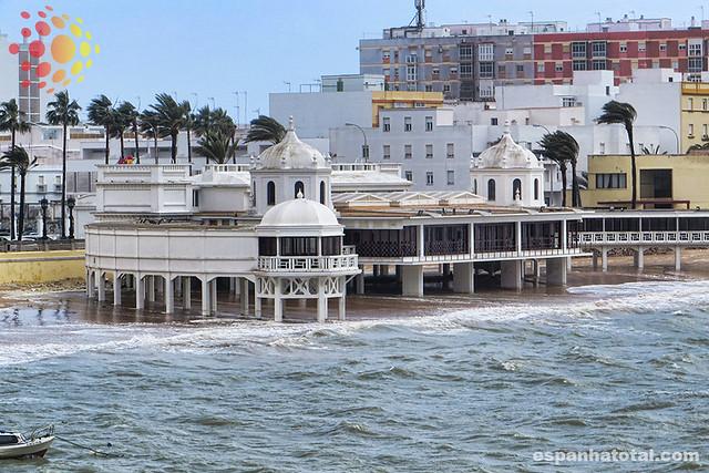 o que fazer em Cádiz: praia de la Caleta