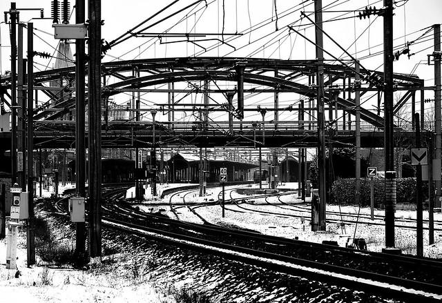 Enchevêtrements ferroviaire  -  Messes railroad