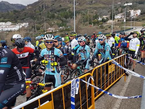 Scirocco Bike Calderón en la Copa de España y de Andalucía Máster. de Ciclismo