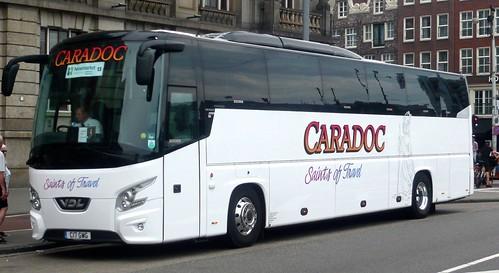 C17 GWG 'Caradoc Coaches' of Church Stretton, Shropshire. VDL Futura on 'Dennis Basford's railsroadsrunways.blogspot.co.uk'