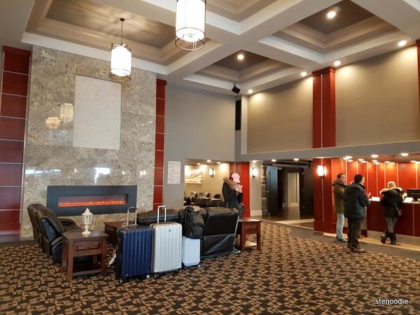 Chateau Nova Yellowknife Hotel lobby