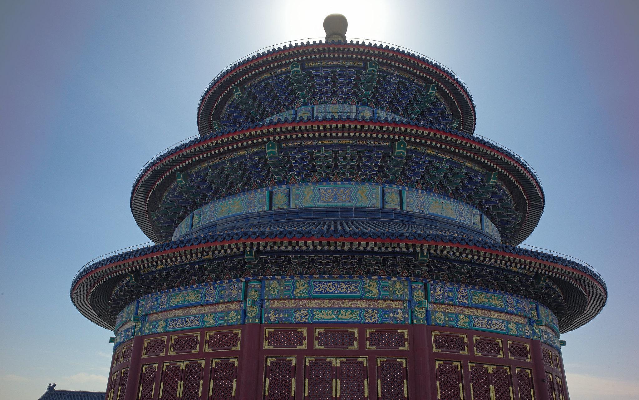 TianTan-Sonne-Gegenlicht