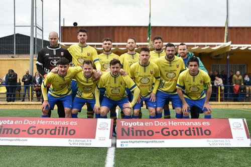 Fútbol 1º Andalucía PD Rociera Villafranco