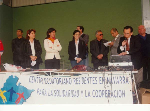 Inauguración III Copa Integración 2004