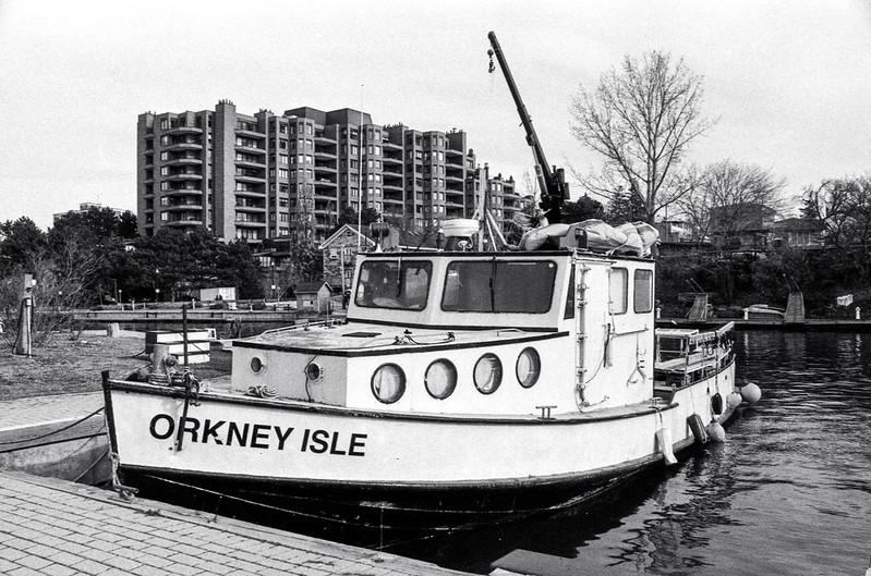 Orkney Isle Moored