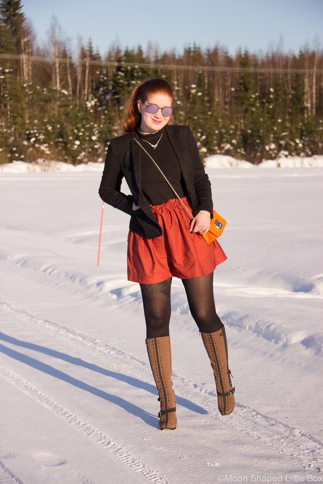 tyylibloggaaja, suomalainen tyyliblogi, päivän asu, poolopaidan yhdistäminen