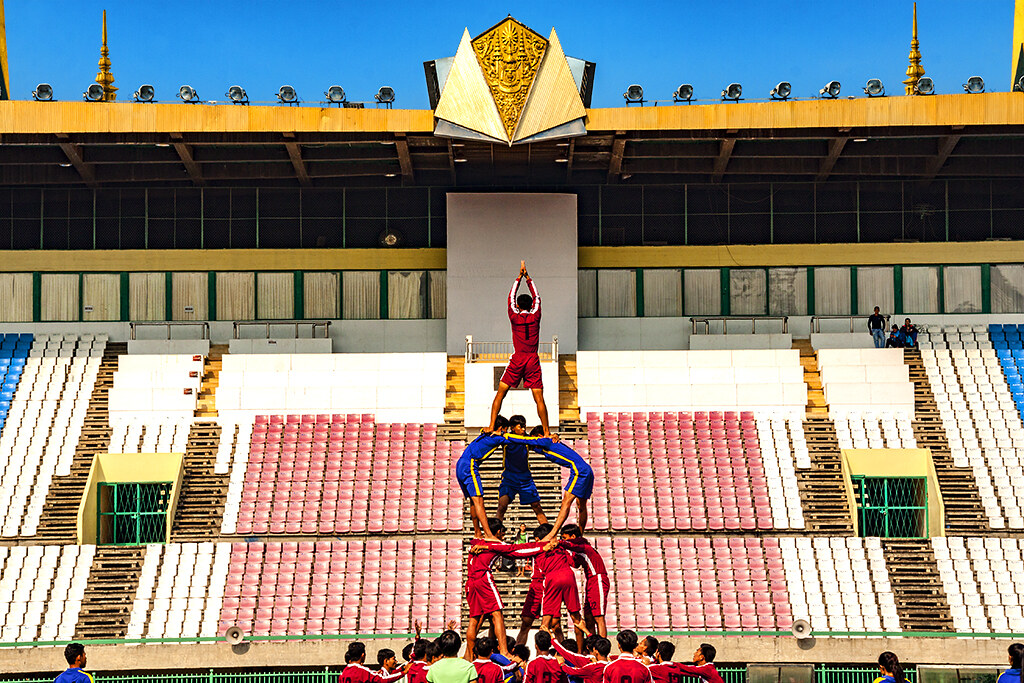 Olympic Stadium--Phnom Penh 4