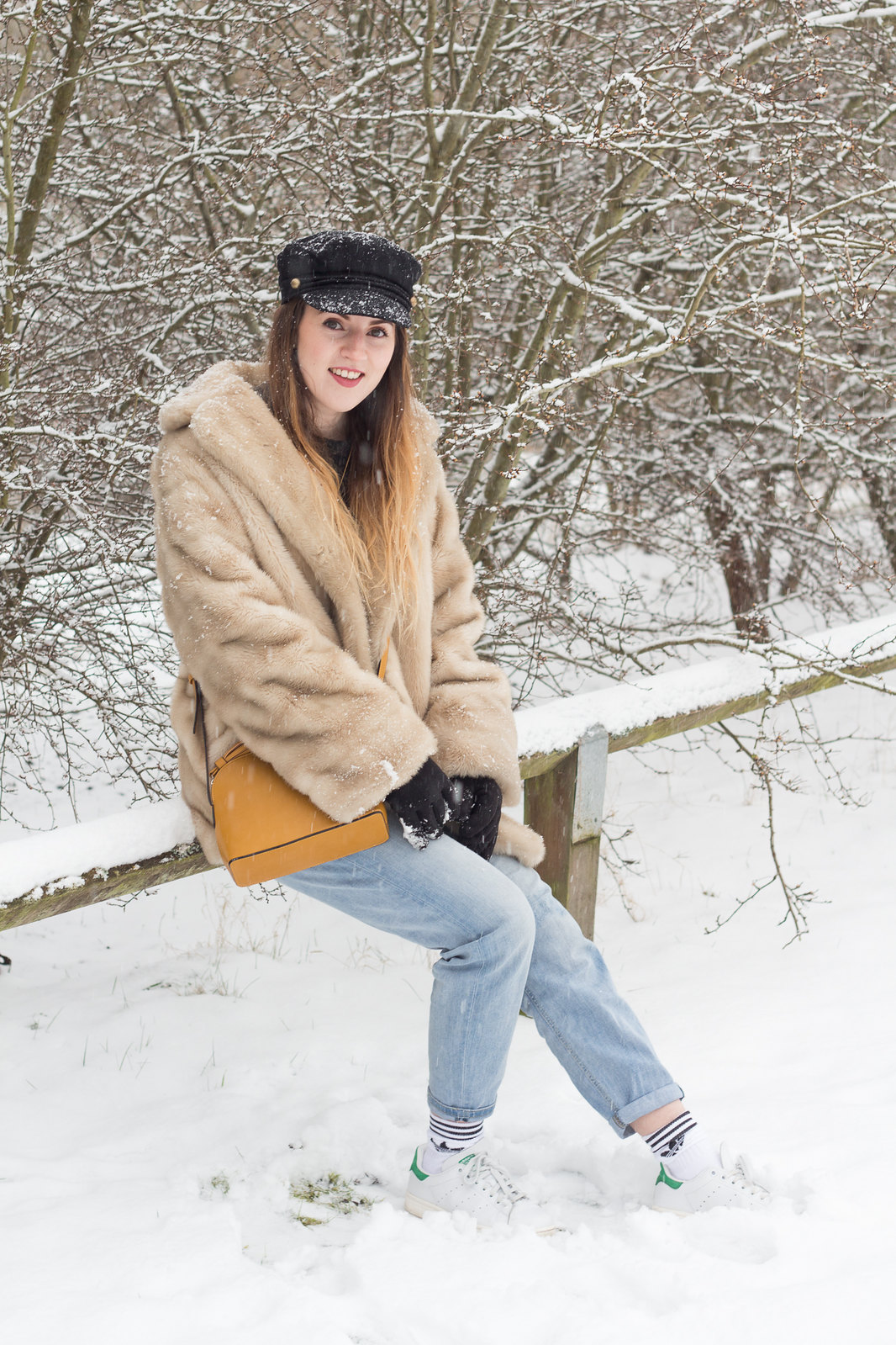 Fur Coat Snow-14
