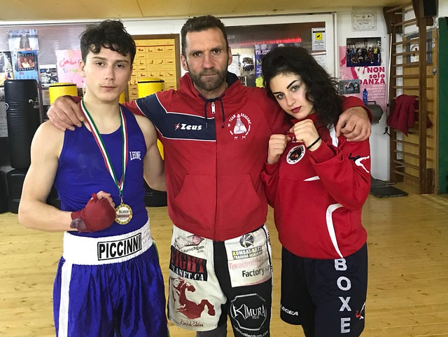 boxe team dragon caputo
