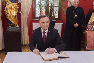Wizyta Prezydenta RP Andrzeja Dudy w Krzeszowie
